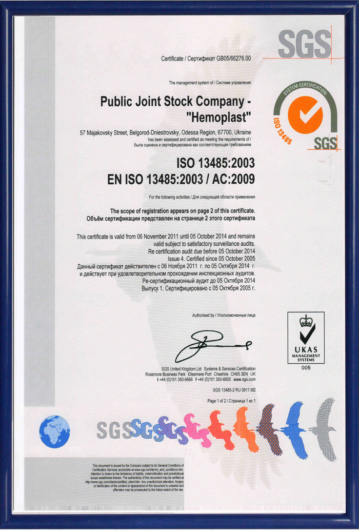 ISO 13485 (eng)